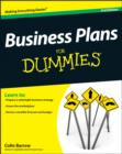 Business Plans For Dummies - Book