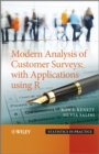 Modern Analysis of Customer Surveys : with Applications using R - eBook