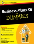 Business Plans Kit For Dummies - eBook