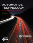 Automotive Technology : A Systems Approach - Book