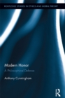 Modern Honor : A Philosophical Defense - eBook