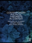 Contemporary Political Theorists in Context - eBook