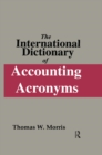 The International Dictionary of Accounting Acronyms - eBook