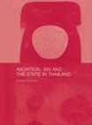 Abortion, Sin and the State in Thailand - eBook