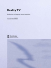 Reality TV : Factual Entertainment and Television Audiences - eBook