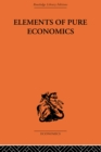 Elements of Pure Economics - eBook