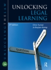 Unlocking Legal Learning - eBook