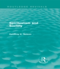 Spiritualism and Society (Routledge Revivals) - eBook