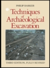 Techniques of Archaeological Excavation - eBook