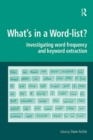 What's in a Word-list? : Investigating Word Frequency and Keyword Extraction - eBook