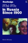 Who's Who in Russia since 1900 - eBook