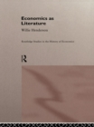 Economics as Literature - eBook