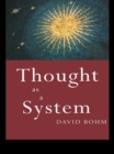 Thought as a System - eBook