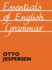 Essentials of English Grammar : 25th impression, 1987 - eBook