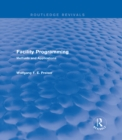 Facility Programming (Routledge Revivals) : Methods and Applications - eBook
