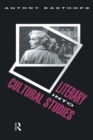 Literary into Cultural Studies - eBook