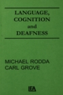 Language, Cognition, and Deafness - eBook