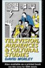 Television, Audiences and Cultural Studies - eBook