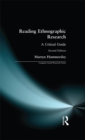 Reading Ethnographic Research - eBook