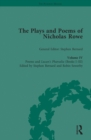 The Plays and Poems of Nicholas Rowe, Volume IV : Poems and Lucan's Pharsalia (Books I-III) - eBook