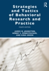 Strategies and Tactics of Behavioral Research and Practice - eBook