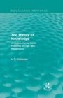 The Theory of Knowledge (Routledge Revivals) : A Contribution to Some Problems of Logic and Metaphysics - eBook