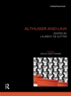 Althusser and Law - eBook