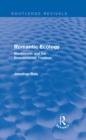 Romantic Ecology (Routledge Revivals) : Wordsworth and the Environmental Tradition - eBook