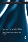 Law and Fair Work in China - eBook