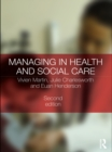 Managing in Health and Social Care - eBook