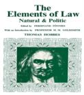 Elements of Law, Natural and Political - eBook