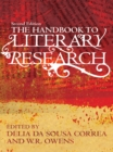 The Handbook to Literary Research - eBook