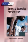 Instant Notes in Sport and Exercise Psychology - eBook