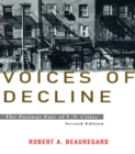 Voices of Decline : The Postwar Fate of US Cities - eBook