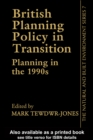 British Planning Policy - eBook