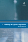 A Glossary of Applied Linguistics - eBook