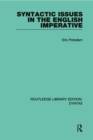 Syntactic Issues in the English Imperative - eBook