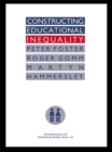 Constructing Educational Inequality : A Methodological Assessment - eBook