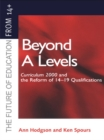 Beyond A-levels : Curriculum 2000 and the Reform of 14-19 Qualifications - eBook