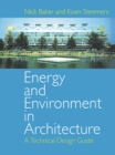 Energy and Environment in Architecture : A Technical Design Guide - eBook
