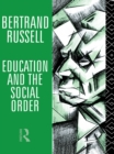 Education and the Social Order - eBook