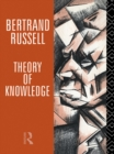 Theory of Knowledge : The 1913 Manuscript - eBook