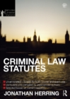 Criminal Law Statutes 2012-2013 - eBook