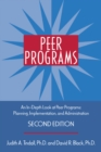 Peer Programs : An In-Depth Look at Peer Programs: Planning, Implementation, and Administration - eBook