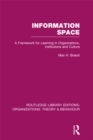 Information Space (RLE: Organizations) - eBook
