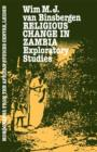 Religious Change In Zambia - eBook