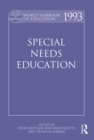 World Yearbook of Education 1993 : Special Needs Education - eBook