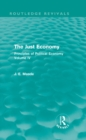 The Just Economy : Principles of Political Economy Volume IV - eBook