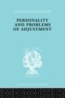 Personality and Problems of Adjustment - eBook