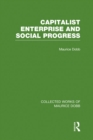 Capitalist Enterprise and Social Progress - eBook